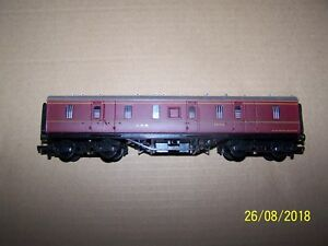 AgréAble Boxed Replica Railways ~ 50ft Parcel Van ~ Lms Red ~ Oo Gauge ~ 12251~ 31239