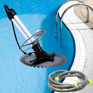 Inground Automatic Swimming Pool Vacuum Cleaner Hover Wall Climb w ...