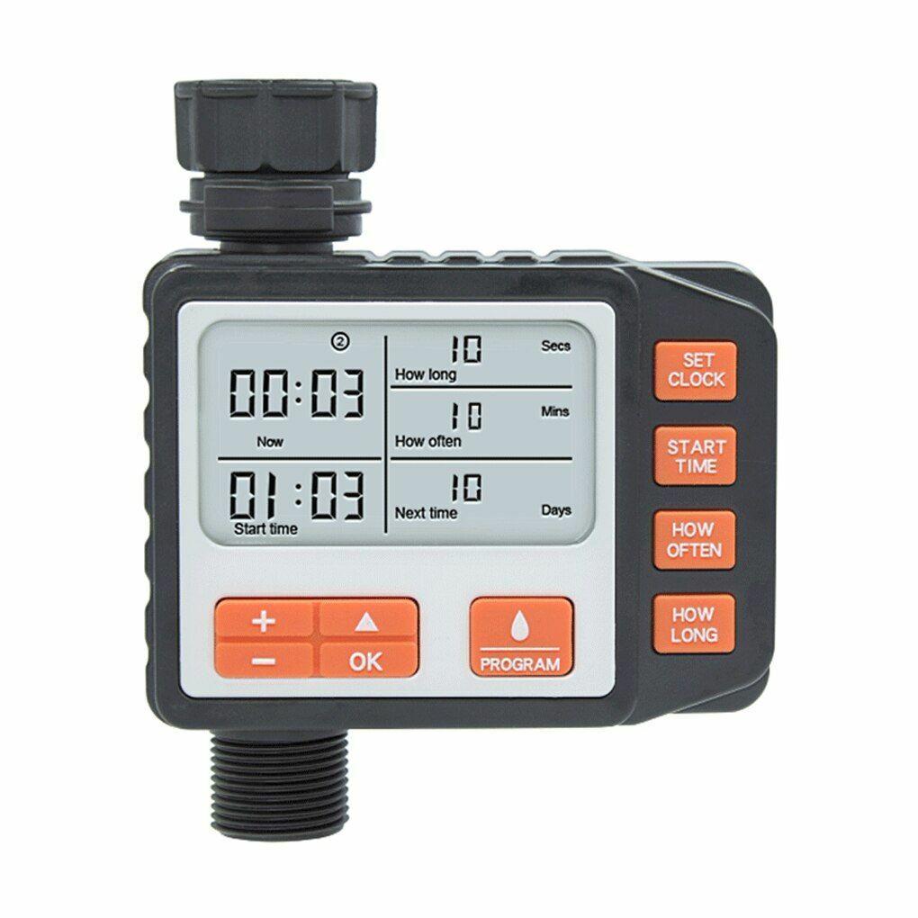 Automatic Watering Timer Digital Display Smart Gardening Sprinkler Timing Tools