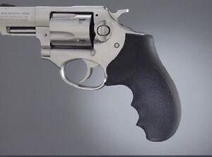 Hogue 81000 Monogrip Rubber Black For Ruger SP101 Revolvers