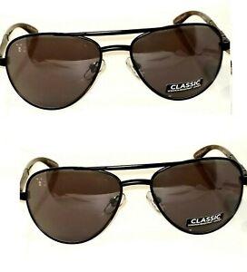 2-pair-Foster-Grant-Adventurer-Sunglasses-Black-Gray-Lens-Reduces-Glare-MSRP-40