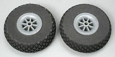 "DUB250DL Diamond Lite Wheels 2-1/2"" (2)  Du-Bro Airplane Parts"