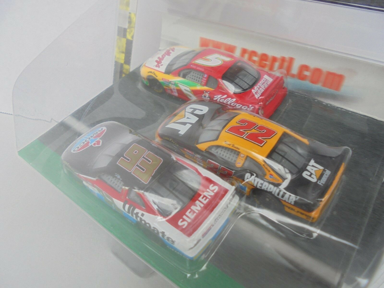 Terry LaBonte 5 & 22 & 93 Bumper 2 Bumper Making a Move Nascar Diecast Collectab