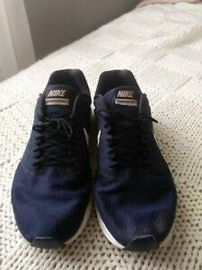 Nike-Downshifter-7-Mens-Navy-Blue-Running-Shoes-Size-11-Preowned