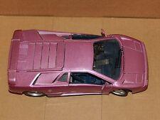 Maisto LAMBORGHINI Diecast Model Sports Car 1:18 Scale Purple 30 Special Edition