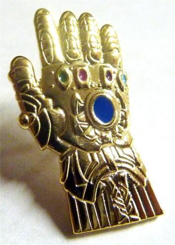 INFINITY GAUNTLET Thanos Glove Thor Artifact Avengers 2 3 Hat Jacket Lapel Pin