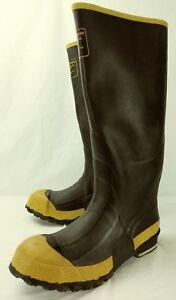 7665189f1a5 LaCrosse Mens Boots US 10 Black Rubber 16