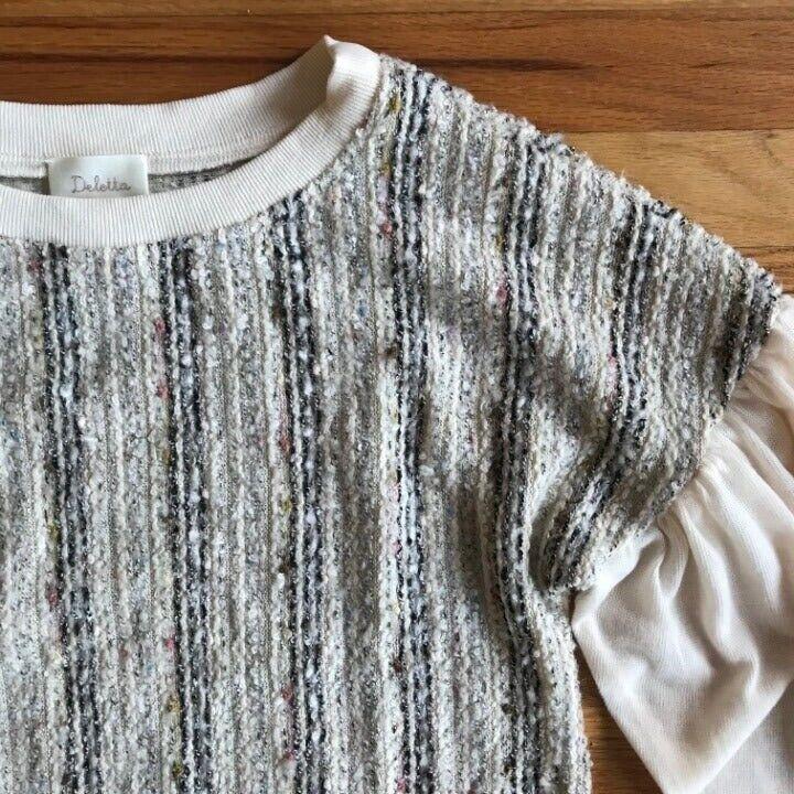 ANTHROPOLOGIE Deletta Textured Knit M - image 4