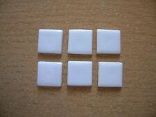 Reutter Porzellan Miniwandfliese weiß White Tiles Dollhouse 1:12 Art 1.507/0