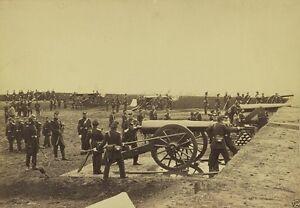 Federal 1st Connecticut Heavy Artillery Arlington Va New 8x10 US Civil War Photo