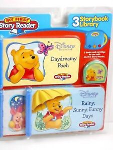 NEW-My-First-STORY-READER-Disney-WINNIE-the-POOH-3-Story-Books-Library-Piglet