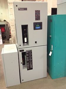 Ge Zenith 100 Amp 480 Volt 1 Phase Automatic Transfer