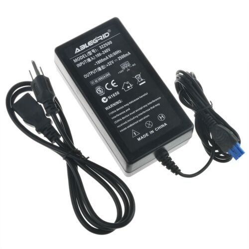 32V 2500mA AC Power Adapter Charger for HP Officejet Pro L7650 L7680 L7750 L7780