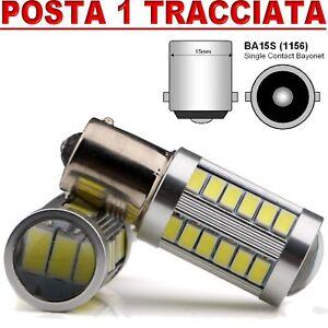 LAMPADA-RETROMARCIA-33-SMD-LED-CON-LENTE-P21W-BA15S-CANBUS-100-NO-ERROR-6000KK