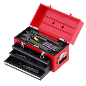 1//6 Scale Toolbox with Tools Models for 12inch Action Figure Doll Toy Scene