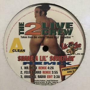 "2 LIVE CREW - SHAKE A LIL' SOMETHIN' (12"") 1995!! RARE!!  MR. MIXX + FELIX SAMAS"