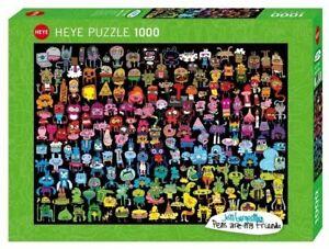 Heye Puzzles - 1000 Pièce Puzzle - Gribouillage Arc-en-Ciel HY29786