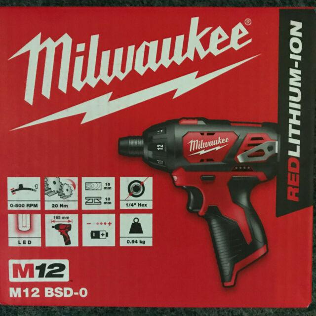 4933440475 Milwaukee M4 D//2.0 Ah Akku-Kompaktschrauber Knickschrauber Art