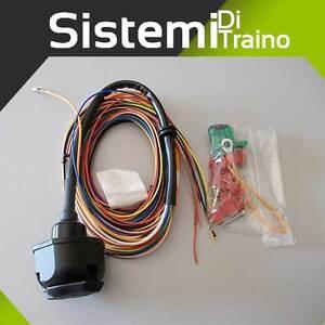 Schema Collegamento Gancio Traino : Kit c u cablaggio elettrico universale a poli per gancio traino