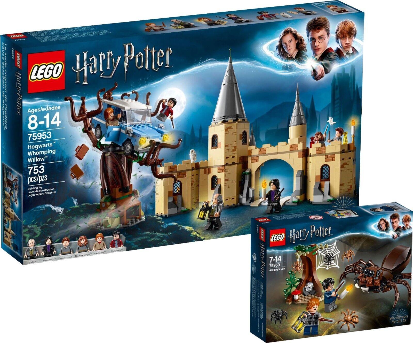 Lego Harry Potter 75953 75950 Poudlard aragogs cachette n10  18  marques de mode