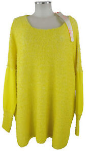 Strick Gelb Neu Oversized Mit Stoff 42 46 Arlette Kaballo Und Pullover Etike xRqgw0pZ