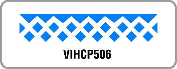 Bordürenstanzer Motivstanzer Hebelstanzer Punch Artemio Fries Diamante VIHCP506