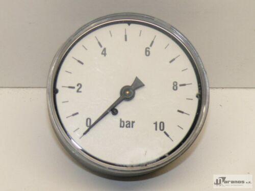 unbenutzt Manometer 0-10 Bar