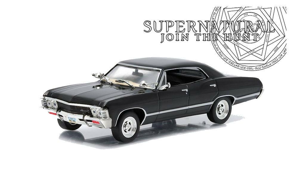 1 43 Greenlight Greenlight Greenlight - Supernatural - 1967 Chev Impala Sports Sedan a3ba4a