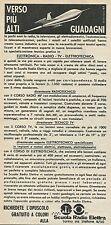 W8353 Scuola Radio Elettra verso più alti guadagni - Pubblicità 1961 - Advertis.
