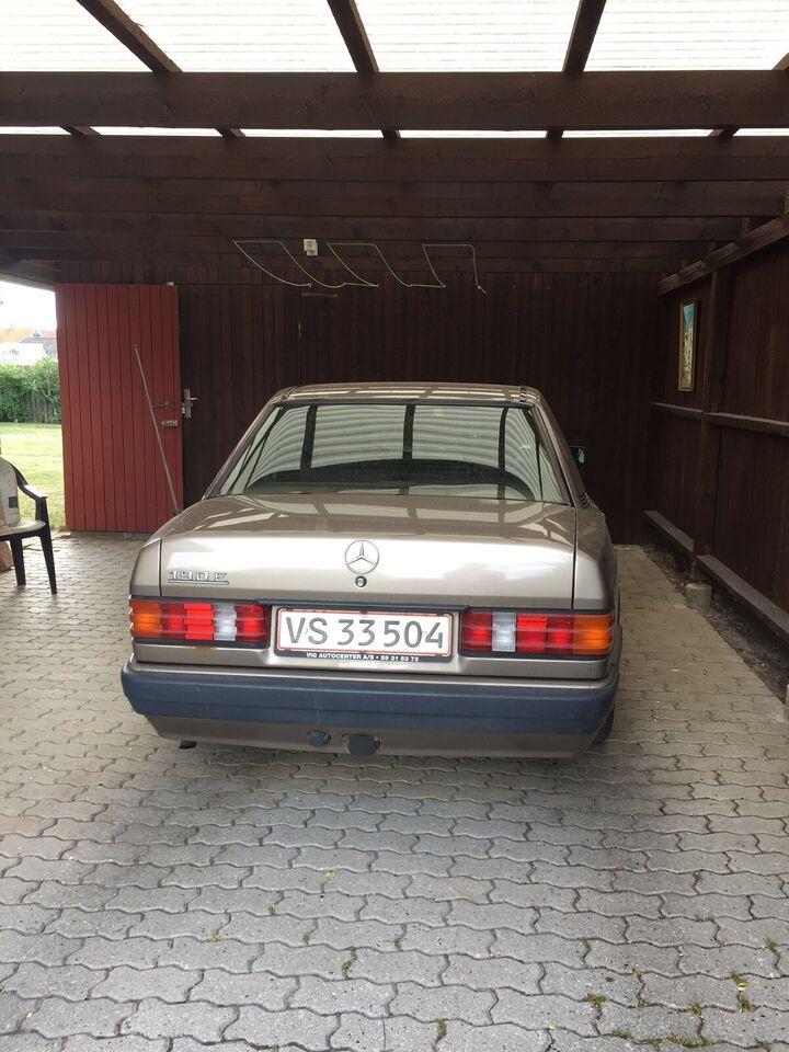Mercedes 190 E, 2,0, Benzin