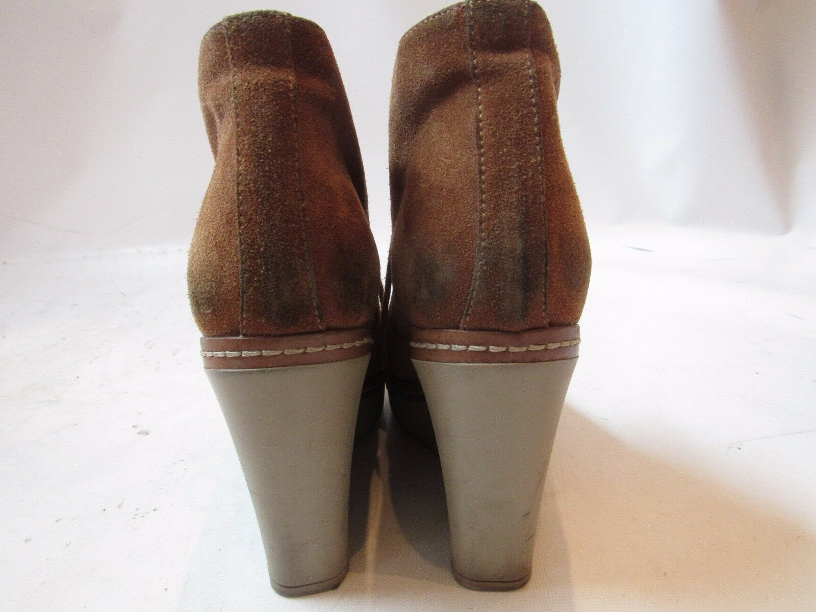 Ankle 290 Castaner  Brown Suede Wedge Ankle  Platform Stivali Size 38 405d38