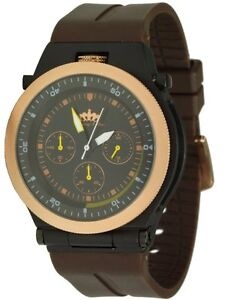 lindberg sons marquants montre hommes montre quartz chronographe ebay. Black Bedroom Furniture Sets. Home Design Ideas