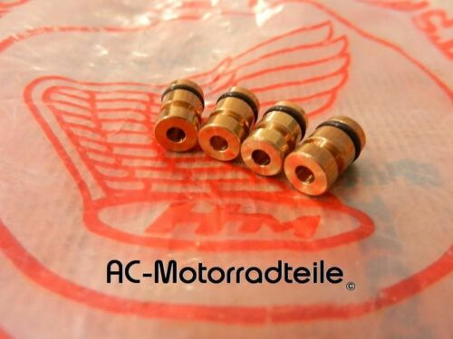 HONDA CB 350 400 500 550 Four principal Buses 4x #100 Main Jets Plug Carburateur New