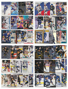 Alexander Mogilny 75 Card Lot All Different With Inserts See Scans NHL Hockey