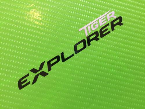 TIGER EXPLORER Logo for  bike fairing or luggage PAIR ref #48