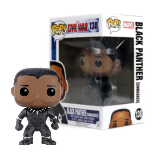 Funko 23129 Black Panther Pop Vinyl Figure