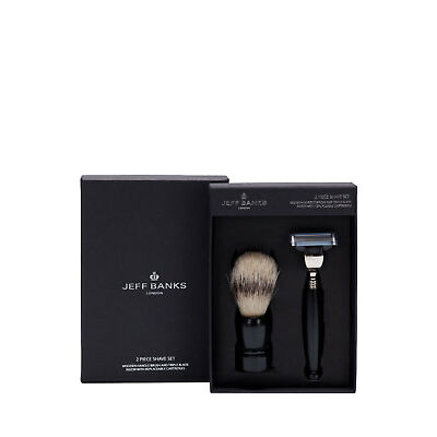 NEW Jeff Banks Shave Set Black