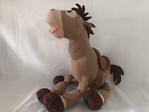 Extra Large Disney Store Toy Story Bullseye Horse Plush Soft Toy Stamped