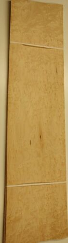 BIRDSEYE MAPLE Veneer  96 cm by 24 cm 1440