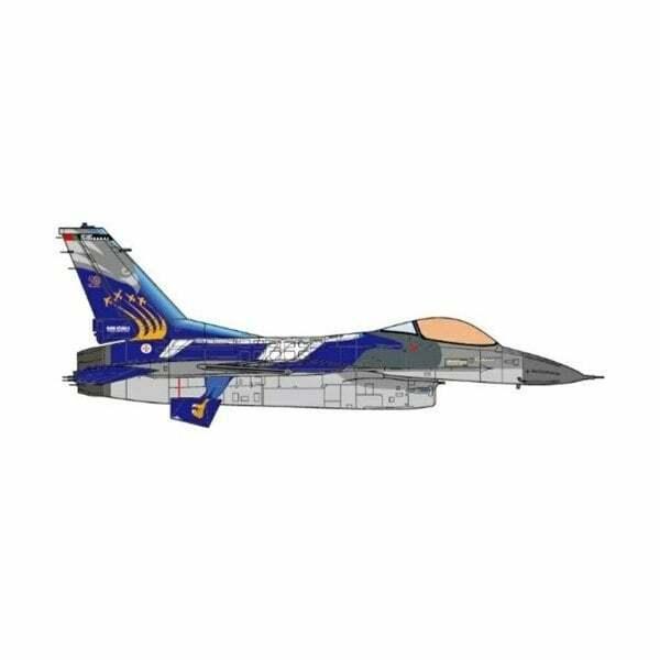 Jc Wings JCW72F16007 1 72 F-16A Fighting Falcon portugués Air Force 201 sqn