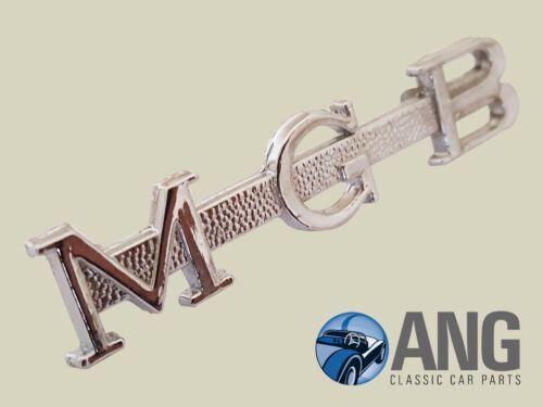 """MGB ROADSTER/' 62 /'69 Cromo Tapa de arranque /""""MGB /'insignia de script AHH6079"""