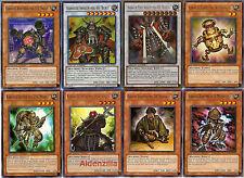 Yugioh Karakuri Deck - 40 Cards + 8 Extra - Bureido Haipa Nishipachi Inashichi