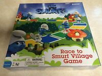 The Smurfs Race To Smurfs Village Board Game 2011 (new Sealed)