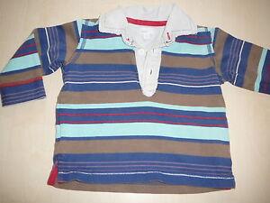 Mexx-tolles-Langarm-Shirt-Gr-74-blau-gestreift
