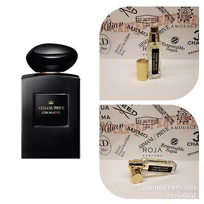 Base ParfumEbay Cuir Decanted 17ml0 Armani 57oz Extract Majeste De Prive Eau SVGqUMLzp