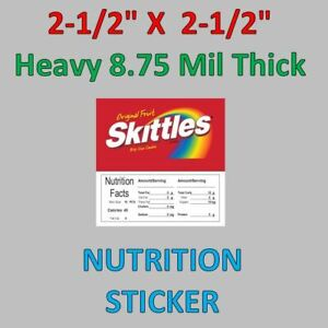 2-5-x-2-5-Bulk-Vending-Label-Candy-Sticker-Heavy-8-75-mil-thickness-Skittles