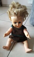 Poupée vintage 1960ca latex souple UNICA Belgium Bambola Doll Puppe  кукла