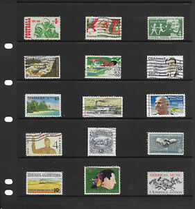 USA-6-pages-large-collection-stamps