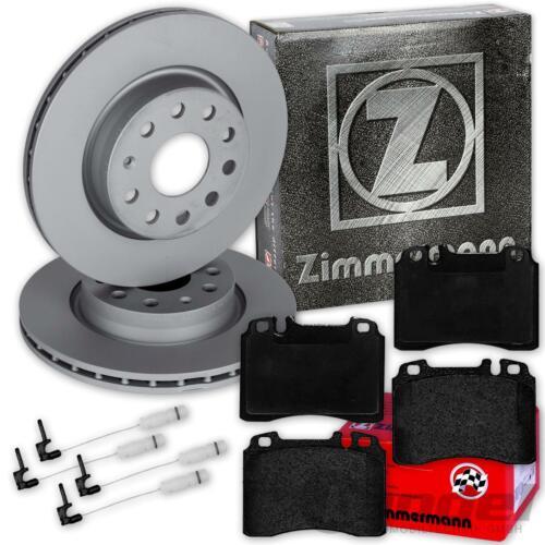 Zimmermann Disques de frein garnitures avant Mercedes Classe C w202 C 36 AMG