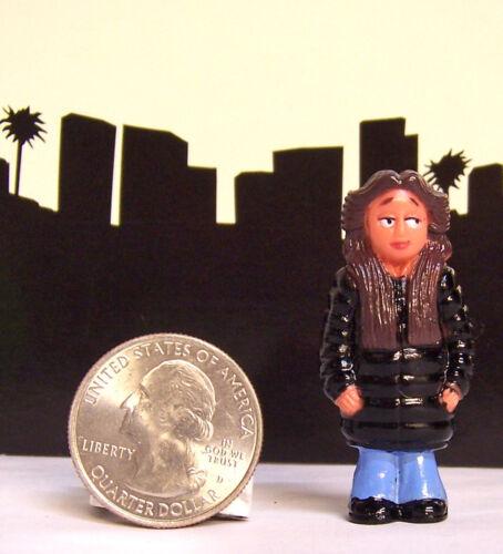 RARE Lil Homies Series #5 Squeeky Squeaky Muchacha Girl Chola Figure Figurine 1